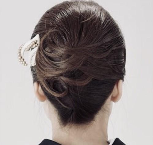 和髪スタイル