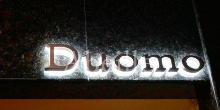 ドゥオーモの看板